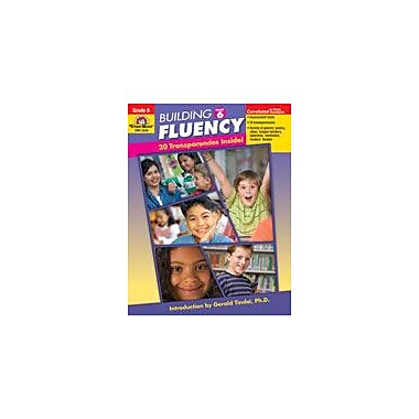 Evan-Moor Educational Publishers Building Fluency Language Arts Workbook, Grade 6 [Enhanced eBook]