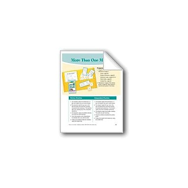 Evan-Moor Educational Publishers More Than One Meaning Reading & Writing Workbook, Grade 2 - Grade 3 [eBook]