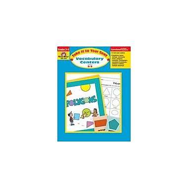 Evan-Moor Educational Publishers Take It to Your Seat Vocabulary Centers Workbook, Grade 2 - Grade 3 [Enhanced eBook]