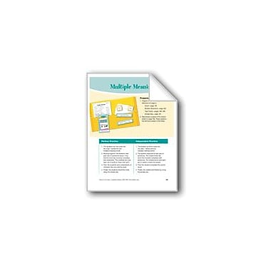 Evan-Moor Educational Publishers Multiple Meanings Reading & Writing Workbook, Grade 3 - Grade 4 [eBook]