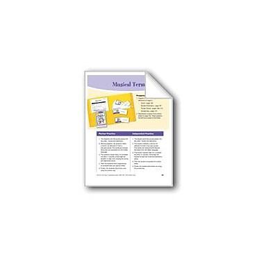 Evan-Moor Educational Publishers Musical Terms Reading & Writing Workbook, Grade 4 - Grade 5 [eBook]