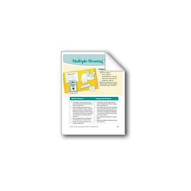 Evan-Moor Educational Publishers Multiple-Meaning Words Reading & Writing Workbook, Grade 4 - Grade 5 [eBook]