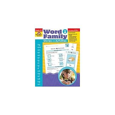 Evan-Moor Educational Publishers Word Family Stories and Activities Workbook, Kindergarten - Grade 2 [Enhanced eBook]