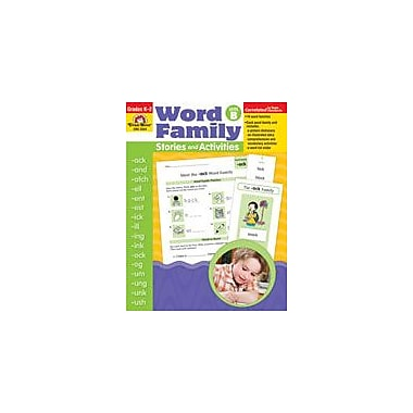Evan-Moor Educational Publishers Word Family Stories and Activities Workbook, Kindergarten - Grade 2 [Enhanced eBook]