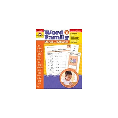 Evan-Moor Educational Publishers Word Family Stories and Activities Language Arts Workbook, Grade 1 - Grade 3 [Enhanced eBook]