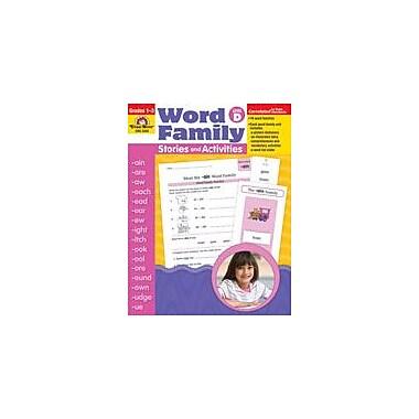Evan-Moor Educational Publishers Word Family Stories and Activities Language Arts Workbook, Grade 1 - Grade 3 [Enhanced eBook]
