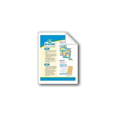 Evan-Moor Educational Publishers 4-In-A-Row (Alphabet Match: Phonics Games) Workbook, Preschool - Kindergarten [eBook]
