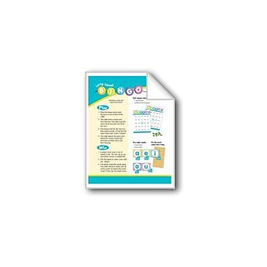 Evan-Moor Educational Publishers Long Vowel Bingo (Long Vowels: Phonics Games) Language Arts Workbook, Grade 1 - Grade 2 [eBook]
