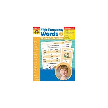 Evan-Moor Educational Publishers High-Frequency Words: Stories and Activities, Level A Workbook [Enhanced eBook]