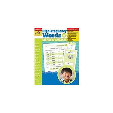 Evan-Moor Educational Publishers High-Frequency Words: Stories and Activities, Level B Workbook [Enhanced eBook]