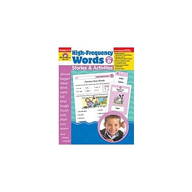 Evan-Moor Educational Publishers High-Frequency Words: Stories and Activities, Level D Workbook [Enhanced eBook]