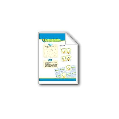 Evan-Moor Educational Publishers Concentration (High-Frequency Words: Center Games, Level D) Workbook, Grade 2 - Grade 3 [eBook]