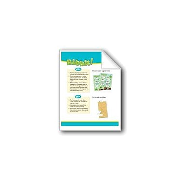Evan-Moor Educational Publishers Ribbit! (High-Frequency Words: Center Games, Level D) Workbook, Grade 2 - Grade 3 [eBook]