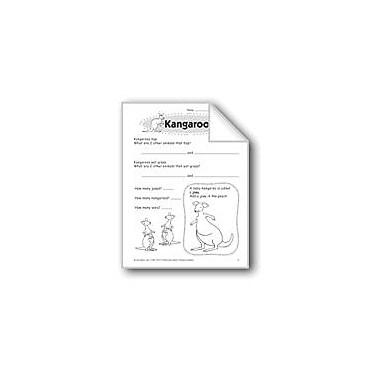 Evan-Moor Educational Publishers Kangaroos Problem Solving Workbook, Grade 1 [eBook]