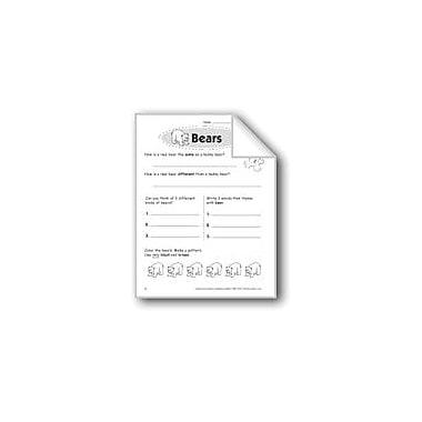 Evan-Moor Educational Publishers Bears Problem Solving Workbook, Grade 1 [eBook]