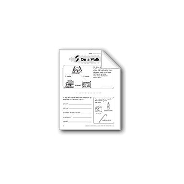 Evan-Moor Educational Publishers On A Walk Problem Solving Workbook, Grade 2 [eBook]