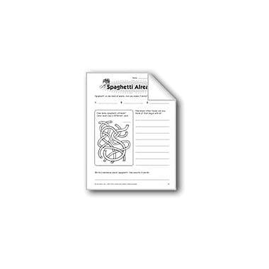 Evan-Moor Educational Publishers Spaghetti Already! Problem Solving Workbook, Grade 2 [eBook]