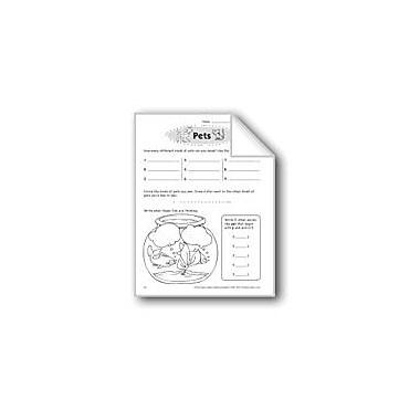 Evan-Moor Educational Publishers Pets Problem Solving Workbook, Grade 3 [eBook]