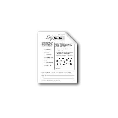 Evan-Moor Educational Publishers Reptiles Problem Solving Workbook, Grade 3 [eBook]