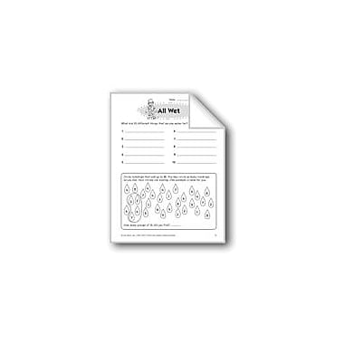 Evan-Moor Educational Publishers All Wet Problem Solving Workbook, Grade 3 [eBook]