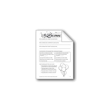 Evan-Moor Educational Publishers At A Party Problem Solving Workbook, Grade 5 [eBook]