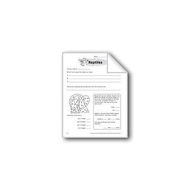 Evan-Moor Educational Publishers Reptiles Problem Solving Workbook, Grade 6 - Grade 8 [eBook]