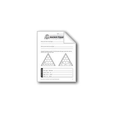 Evan-Moor Educational Publishers Ancient Egypt Problem Solving Workbook, Grade 6 - Grade 8 [eBook]