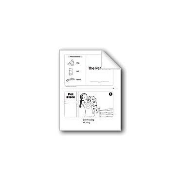 Evan-Moor Educational Publishers The Pet Store (Level A) Language Arts Workbook, Kindergarten [eBook]