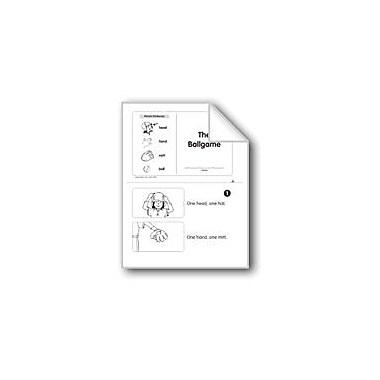 Evan-Moor Educational Publishers The Ballgame (Level B) Language Arts Workbook, Kindergarten [eBook]
