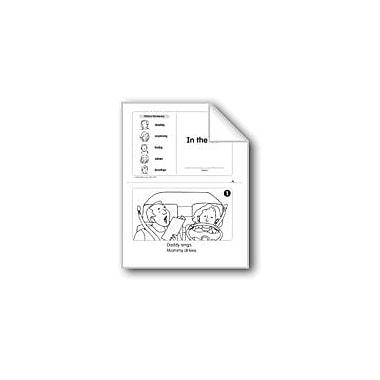 Evan-Moor Educational Publishers In the Car (Level B) Language Arts Workbook, Kindergarten [eBook]