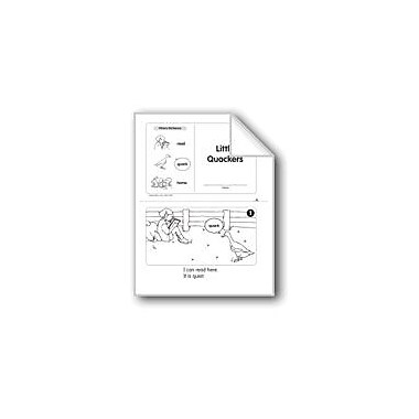 Evan-Moor Educational Publishers Little Quackers (Level C) Language Arts Workbook, Kindergarten [eBook]