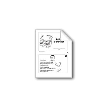 Evan-Moor Educational Publishers Zack's Sandwich (Level H) Language Arts Workbook, Grade 1 [eBook]