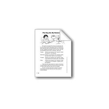 Evan-Moor Educational Publishers The Dog Ate My Homework (Lexile 500) Language Arts Workbook, Grade 3 [eBook]
