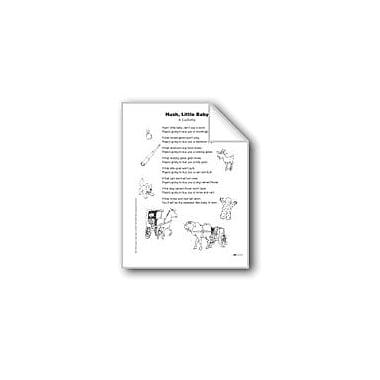Evan-Moor Educational Publishers Hush, Little Baby (Poem) Language Arts Workbook, Grade 3 [eBook]