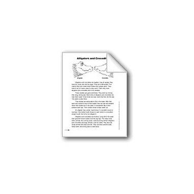 Evan-Moor Educational Publishers Alligators and Crocodiles (Lexile 700) Language Arts Workbook, Grade 3 [eBook]