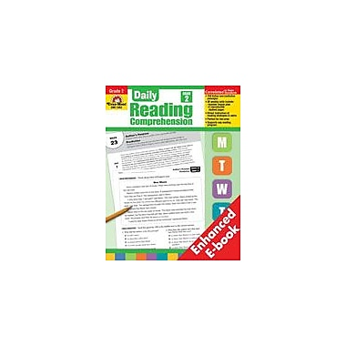 Evan-Moor Educational Publishers Daily Reading Comprehension: Grade 2 Language Arts Workbook, Grade 2 [Enhanced eBook]