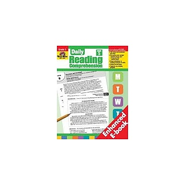 Evan-Moor Educational Publishers Daily Reading Comprehension Language Arts Workbook, Grade 5 [Enhanced eBook]