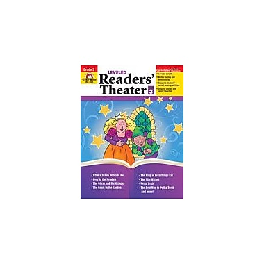 Evan-Moor Educational Publishers Leveled Readers' Theater Language Arts Workbook, Grade 3 [Enhanced eBook]