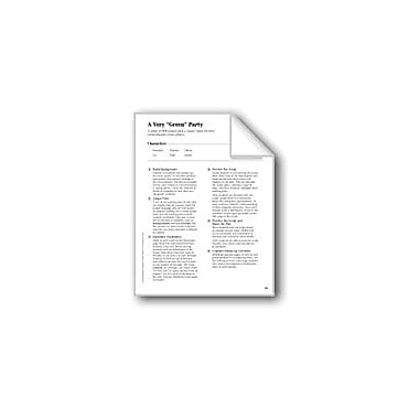 Evan-Moor Educational Publishers A Very 'Green' Party (Leveled Readers' Theater) Language Arts Workbook, Grade 5 [eBook]