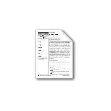 Evan-Moor Educational Publishers A State Map of Texas Social Studies Workbook, Grade 1 [eBook]