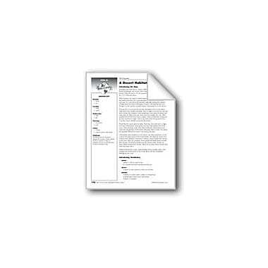 Evan-Moor Educational Publishers A Desert Habitat Map Social Studies Workbook, Grade 1 [eBook]