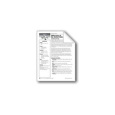 Evan-Moor Educational Publishers Waterways of the United States Social Studies Workbook, Grade 3 [eBook]
