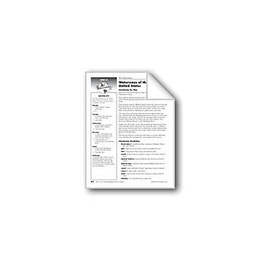 Evan-Moor Educational Publishers Waterways of the United States Social Studies Workbook, Grade 5 [eBook]