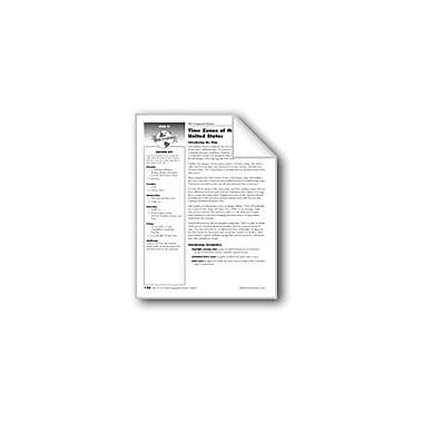 Evan-Moor Educational Publishers Time Zones of the United States Social Studies Workbook, Grade 5 [eBook]