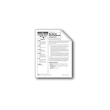 Evan-Moor Educational Publishers The Top Ten Oil-Producing States Social Studies Workbook, Grade 5 [eBook]