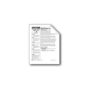 Evan-Moor Educational Publishers National Parks of Utah Social Studies Workbook, Grade 6 [eBook]