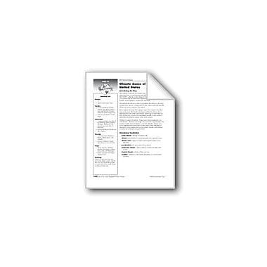 Evan-Moor Educational Publishers Climate Zones of the United States Social Studies Workbook, Grade 6 [eBook]