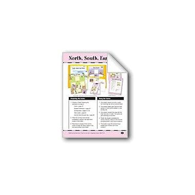 Evan-Moor Educational Publishers North, South, East, West: Cardinal Directions Workbook, Grade 1 - Grade 2 [eBook]