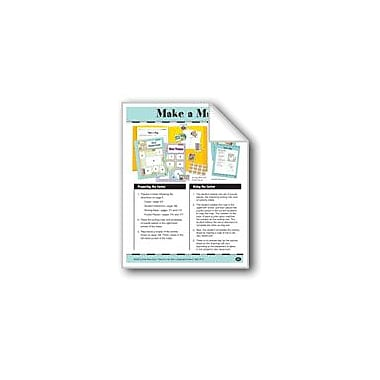 Evan-Moor Educational Publishers Make A Map: Parts of A Map Social Studies Workbook, Grade 1 - Grade 2 [eBook]