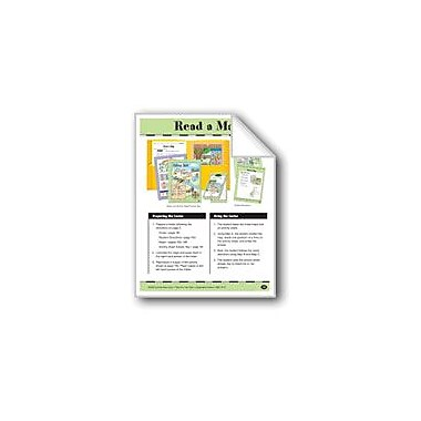 Evan-Moor Educational Publishers Read A Map: Parts of A Map/Cardinal Directions Workbook, Grade 1 - Grade 2 [eBook]